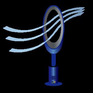 暑さ対策 グッズ 扇風機