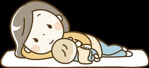 赤ちゃんの昼寝