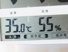 冷風扇の湿度 測定